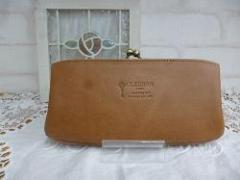 クレドラン NUA PURSE LONG WALLET:DARK BEIGE