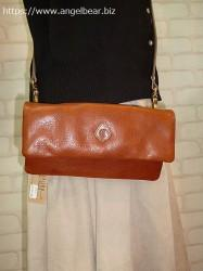 クレドラン ECRA 2WAY POCHETTE:BROWN