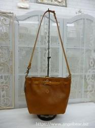 クレドラン AMO 2WAY PURSE SHOULDER:CAMEL