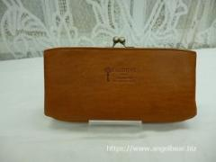 クレドラン NOM PURSE LONG WALLET:CAMEL