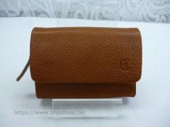 クレドラン ECRA HOLD KEY CASE:CAMEL