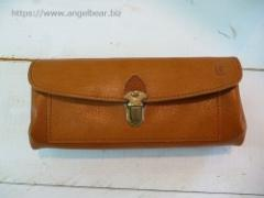 クレドラン INNO FLUFFY LONG WALLET:CAMEL