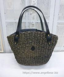 クレドラン H&W NARROW HANDLE BASKET:BK