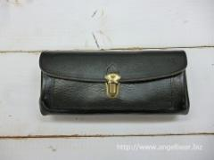 クレドラン INNO FLUFFY LONG WALLET:BLACK
