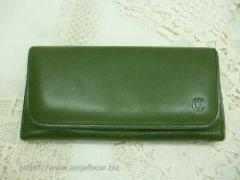 クレドラン QUA LONG WALLET:GREEN