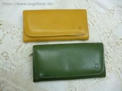 クレドラン QUA LONG WALLET:YELLOW