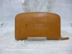 クレドラン MIEL LONG WALLET:CAMEL
