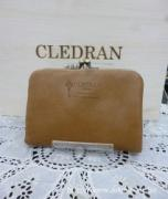 クレドラン NUA PURSE WALLET:DARK BEIGE