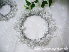 BEADS WREATH クリアL