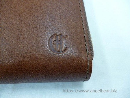 クレドラン DEBOR ROUNDZIP LONG WALLET:BROWN