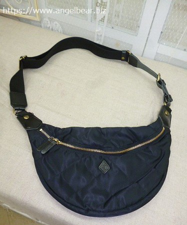 クレドラン ROTA BODY BAG :BLACK×BLACK