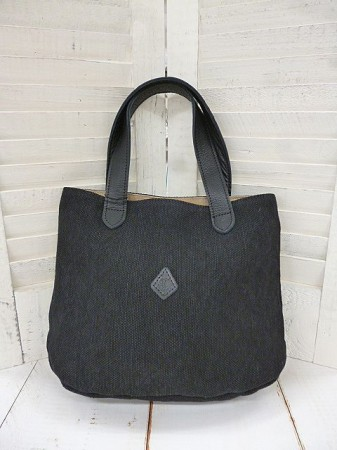 クレドラン GALE MINI TOTE:BLACK×BLACK