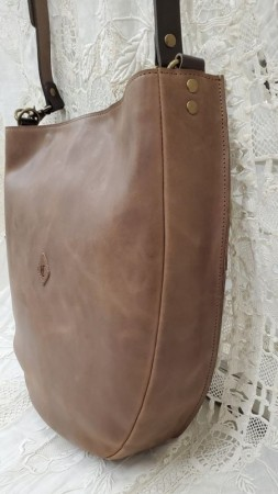 クレドラン FOI 2WAY SHOULDER:BROWN