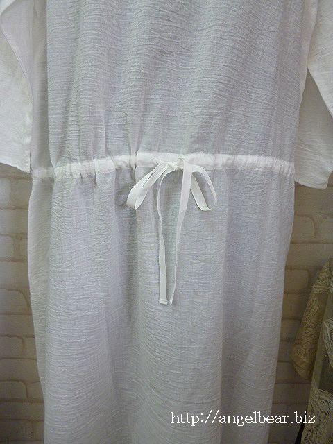 エムビー 80ローンワッシャー ドレス:OW