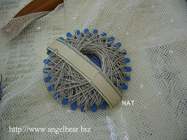 ティアラ 巻き糸 ベルギーリネン糸 NAT
